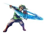 Link faisant une attaque horizontale