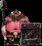 Moblin avec un bouclier de métal