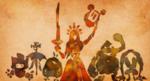 Hylia et les différents peuples