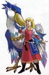 Zelda avec son célestrier