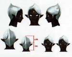 Concept art de la tête de Ghirahim