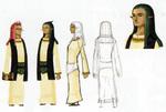 Concept art de Hulul et Arfan