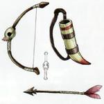 Arc, flèche et carquois d'un Bokoblin archer
