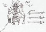 Concept art de Capitaine Zigouille