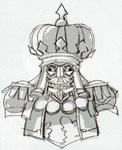 Concept art de Capitaine Trucide