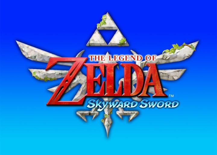 Version finale du logo de Skyward Sword (Image diverse - Logos - Skyward Sword)