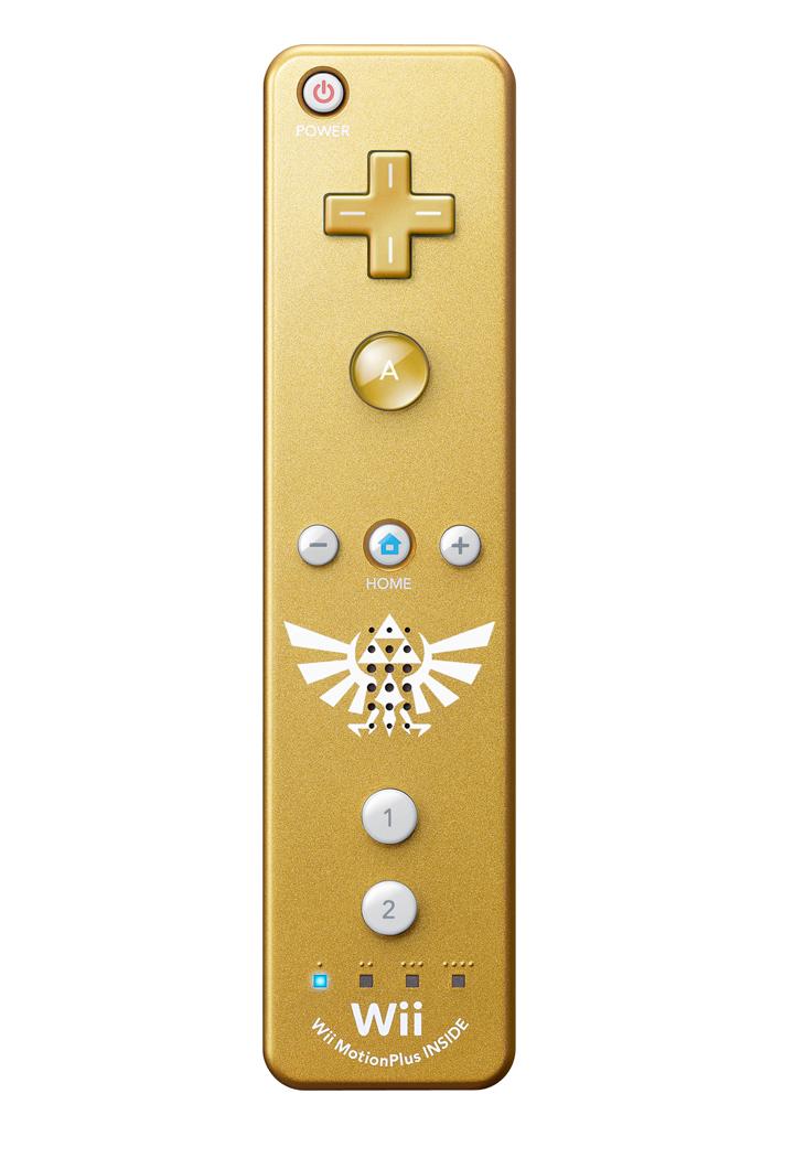 Wiimote dorée (Image diverse - Wiimote dorée - Skyward Sword)