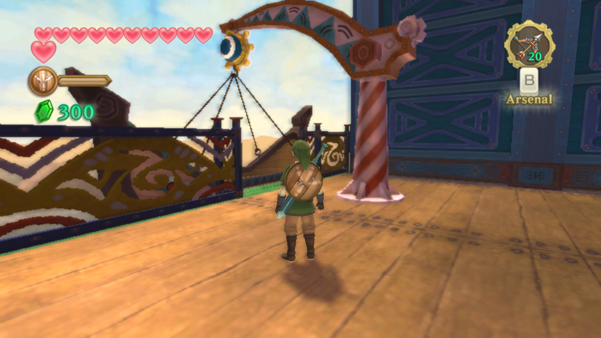 Le galion des sables solution de skyward sword for Skyward laporte