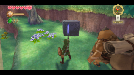 Screenshot de Skyward Sword