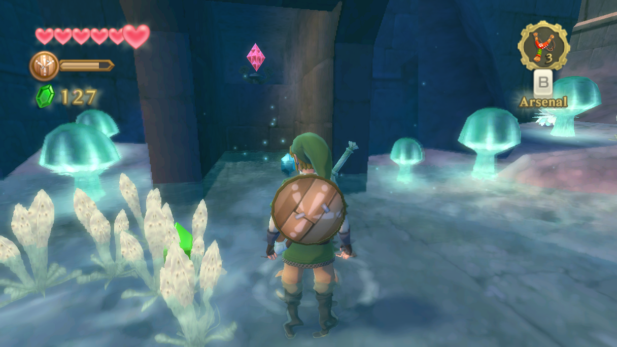 solution de skyward sword le temple de la contemplation