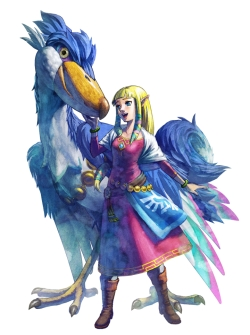 Zelda dans Skyward Sword
