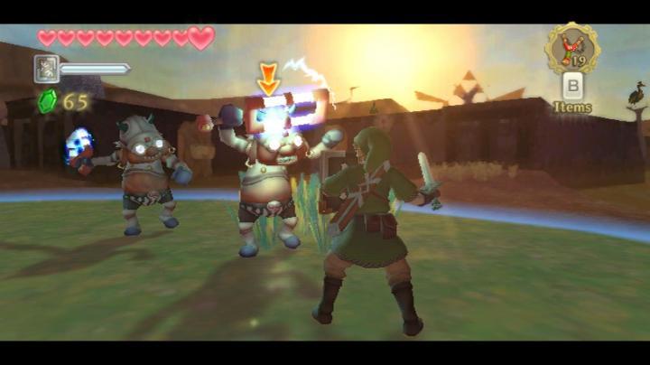 Screenshot de Skyward Sword