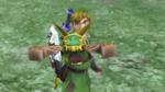 Link utilisant un scarabée
