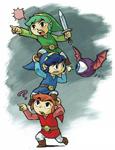 Artwork de Tri Force Heroes