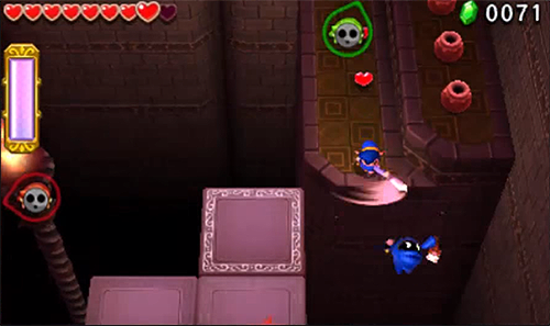 Screenshots des Ruines de Tri Force Heroes
