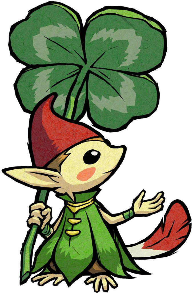 Un Minish (Artwork - Autres personnages - The Minish Cap)