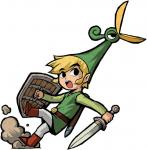 Exelo traînant Link dans une direction