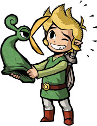 Link dans The Minish Cap