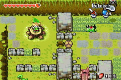 The Minish Cap Quart de Cœur