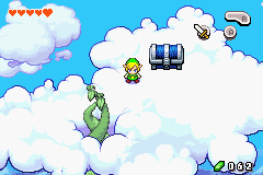 Link au-dessus des nuages (Screenshot - The Minish Cap)