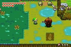 Link dans les Marais de Tabanta (Screenshot - The Minish Cap)