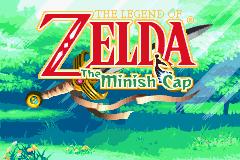 Écran titre de The Minish Cap (Screenshot - The Minish Cap)