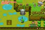 Link tirant une flèche dans un Gore-Œil