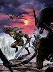 Link affrontant un Stalfos