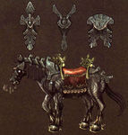 Étalon noir Gerudo de Ganondorf