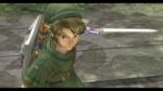 Link récupérant la Master Sword