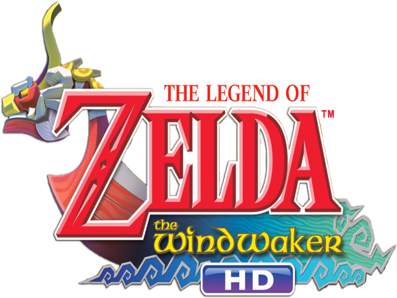 Logo de The Legend of Zelda : The Wind Waker HD sur WiiU