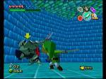 Link combattant un Darknut