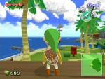 Link sur l'île de l'Aurore