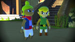 Vue de Mercantîle avec Link et Tetra