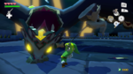 Link combattant le Roi Cuirasse