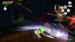 Link combattant des moblins