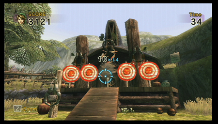 Screenshot de Link's Crossbow Training