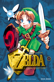Couverture du tome 1 Ocarina of Time