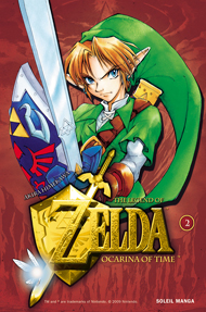 Couverture du tome 2 Ocarina of Time