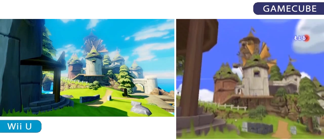 Comparaison des deux versions de TWW
