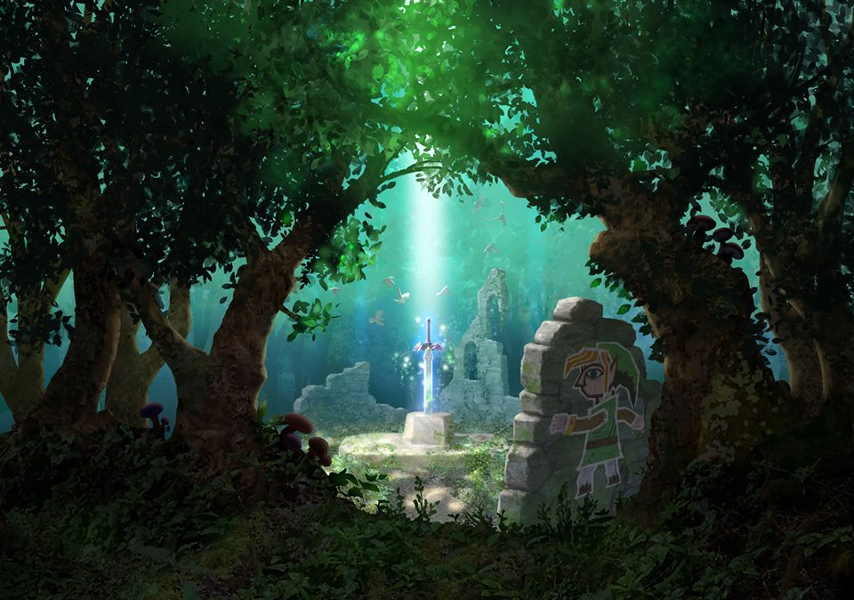 Artwork d'A Link Between Worlds