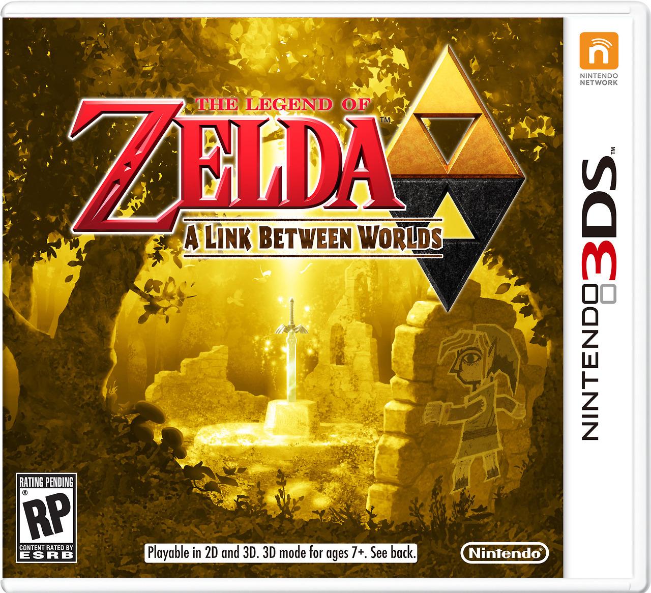 Jaquette de The Legend of Zelda A Link Between Worlds