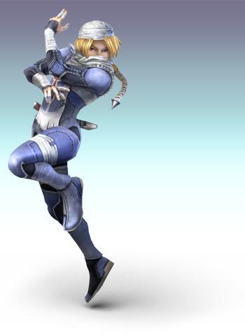 Sheick dans Super Smash Bros. Brawl sur Wii
