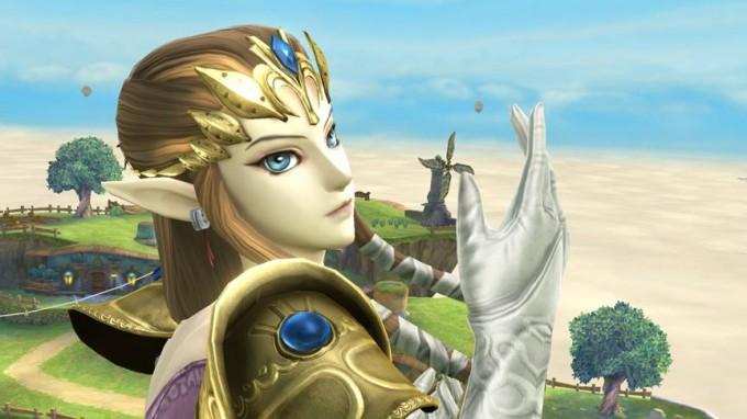 Screenshot de Zelda dans Super Smash Bros Wii U