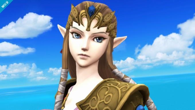 Deuxième Screenshot de Zelda dans Super Smash Bros Wii U