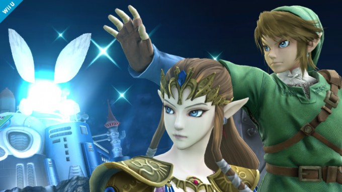 Quatrième screenshot de Zelda dans Super Smash Bros Wii U