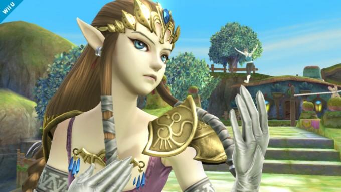 Cinquième screenshot de Zelda dans Super Smash Bros Wii U