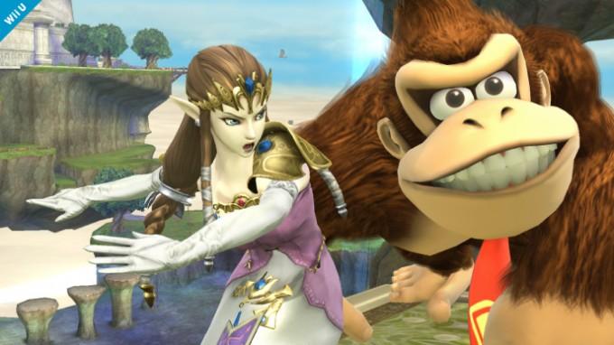Sixième screenshot de Zelda dans Super Smash Bros Wii U