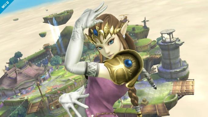 Huitième screenshot de Zelda dans Super Smash Bros Wii U