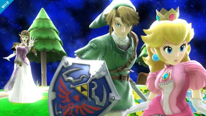 Dixième screenshot de Zelda dans Super Smash Bros Wii U